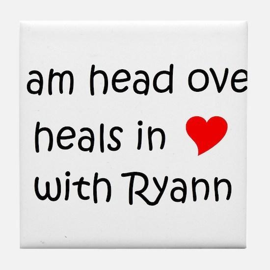 Unique Ryann Tile Coaster