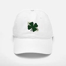Lucky Irish Clover Baseball Baseball Cap