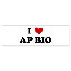 I Love AP BIO Bumper Sticker (50 pk)