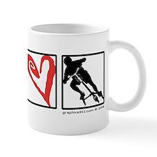 PEACE LOVE CARVE Mug