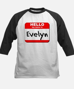Hello my name is Evelyn Tee