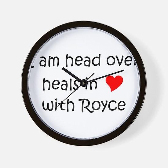 Unique Royce Wall Clock