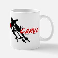 i (heart) to CARVE Mug