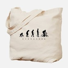 Unique Evolution bike Tote Bag