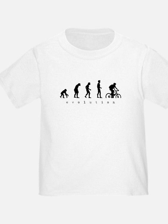 evolution-mtb-design-black T-Shirt