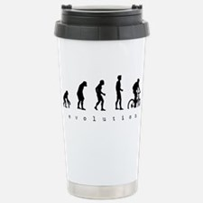 Cute Evolution bike Travel Mug