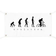 Cute Mountain biking Banner