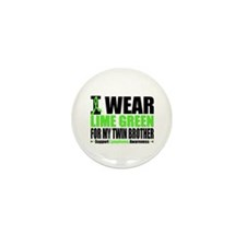 Lymphoma Twin Brother Mini Button (10 pack)