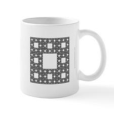 'Sierpinski Carpet' Fractal Mug