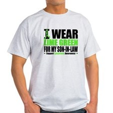 I Wear Lime Green Son-in-Law T-Shirt