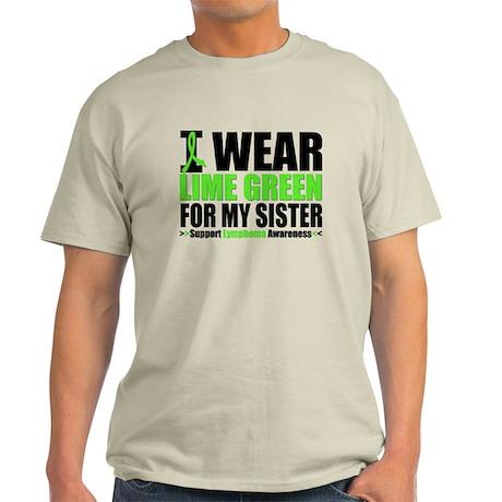 I Wear Lime Green Sister Light T-Shirt