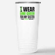 I Wear Lime Green Sister Travel Mug