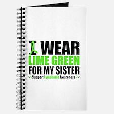 I Wear Lime Green Sister Journal