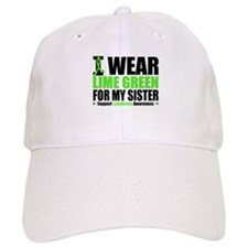 I Wear Lime Green Sister Baseball Cap