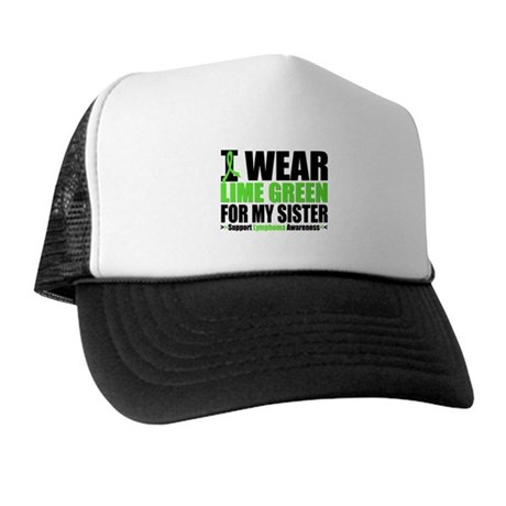 I Wear Lime Green Sister Trucker Hat