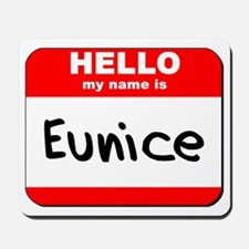 Hello my name is Eunice Mousepad
