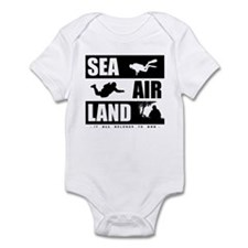 'God's Sea Air Land' Infant Bodysuit