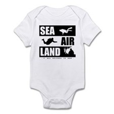 'God's Sea Air Land' Onesie