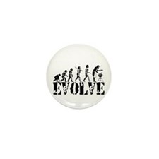 BBQ Barbeque Grill Mini Button (10 pack)
