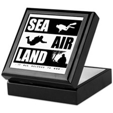 'God's Sea Air Land' Keepsake Box