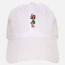 Hawaiian Hula Dancer Tattoo Baseball Baseball Cap