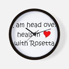 Funny Rosetta Wall Clock