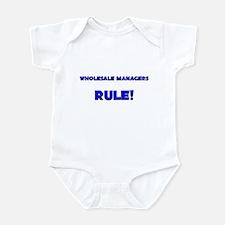 Wholesale Managers Rule! Infant Bodysuit