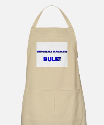 Wholesale Managers Rule! BBQ Apron