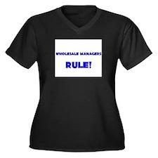 Wholesale Managers Rule! Women's Plus Size V-Neck