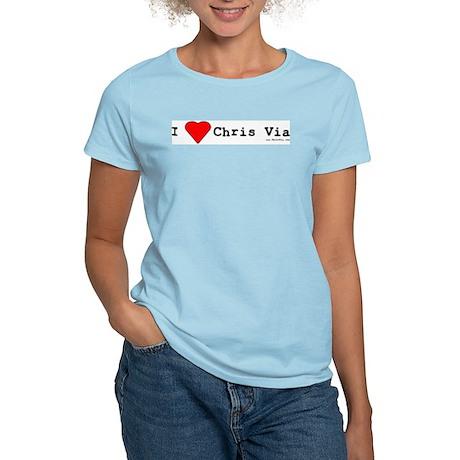 Chris Via Fan Club Women's Light T-Shirt