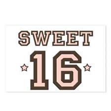 Sweet 16 Postcards (Package of 8)