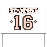 16th birthday Yard Signs