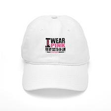 I Wear Pink Sister-in-Law Baseball Cap