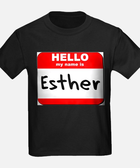 Hello my name is Esther T