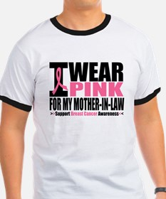 I Wear Pink Mother-in-Law T
