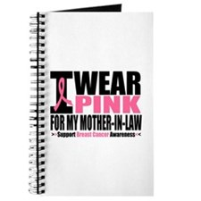 I Wear Pink Mother-in-Law Journal