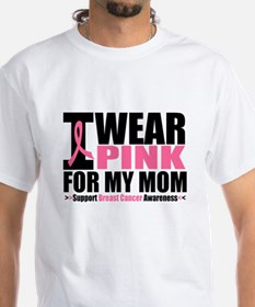 I Wear Pink For My Mom Shirt