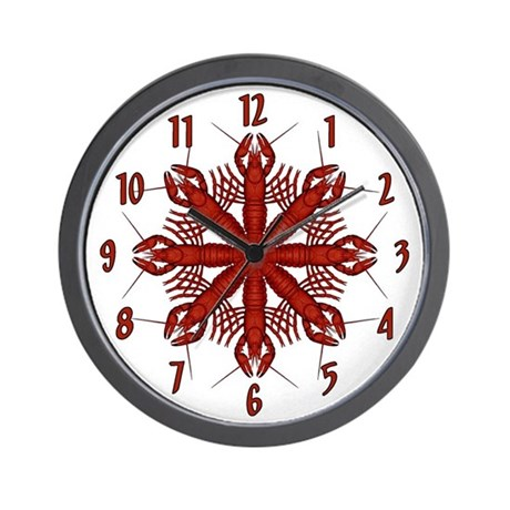 Crawfish Wall Clock