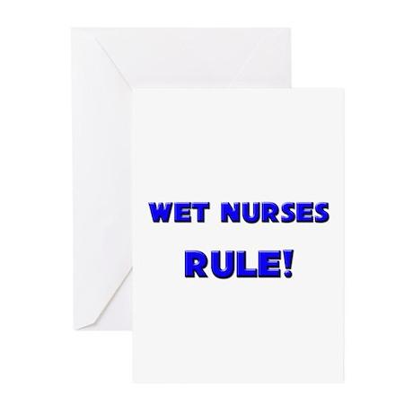 Wet Nurses Rule! Greeting Cards (Pk of 10)
