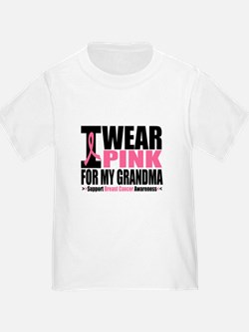 I Wear Pink For My Grandma T