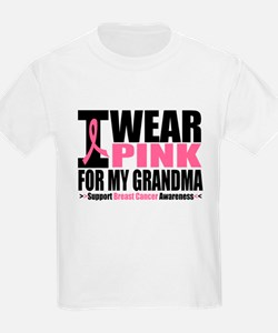 I Wear Pink For My Grandma T-Shirt