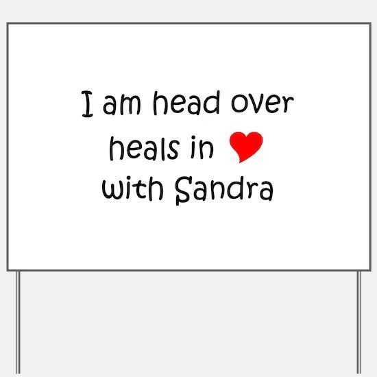 Funny Sandra Yard Sign