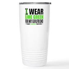 I Wear Lime Green Travel Mug