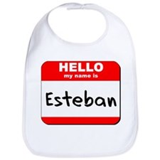 Hello my name is Esteban Bib
