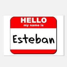 Hello my name is Esteban Postcards (Package of 8)