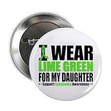 "IWearLimeGreen Daughter 2.25"" Button"