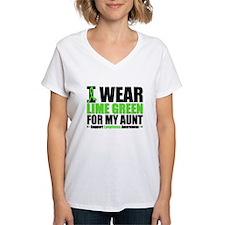 I Wear Lime Green Aunt Shirt