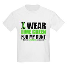 I Wear Lime Green Aunt T-Shirt