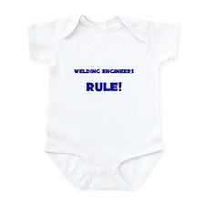 Welding Engineers Rule! Infant Bodysuit