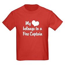 My Heart Belongs to a Fire Captain T